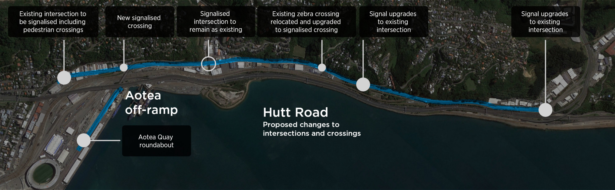 HR intersections and crossings map